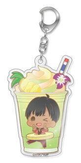 """Charappuccino - """"Yuri on Ice"""" Acrylic Keychain: Phichit Chulanont(Released)(キャラペチーノ ユーリ!!! on ICE アクリルキーホルダー ピチット・チュラノン)"""