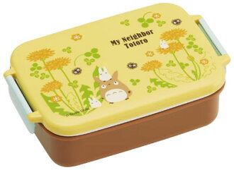 My Neighbor Totoro (Dandelion) RB3A Dishwasher Safe Tight Lunch Box Square Type(Back-order)(となりのトトロ〈たんぽぽ〉 RB3A 食洗機対応タイトランチボックス角型)