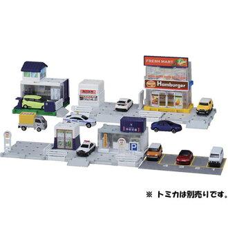 トミカワールド トミカタウンビルドシティ 街をつくろう! ベーシックどうろセット(Tomica World - Tomica Town Build City: Machi wo Tsukurou! Basic Road Set(Released))