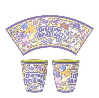 デジモンアドベンチャー (1)メラミンカップ/コミック(Digimon Adventure - (1) Melamine Cup / Comic(Released))