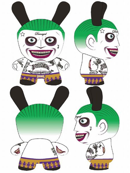 ダニー/ DCコミックス バットマン 5インチ フィギュア: ジョーカー スーサイド・スクワッド ver[キッドロボット]《取り寄せ※暫定》