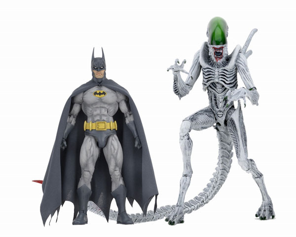 バーサスシリーズ/ バットマン/エイリアン: バットマン vs エイリアン 7インチ アクションフィギュア 2PK[ネカ]《01月予約》