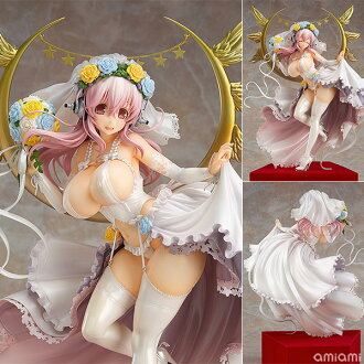 Super Sonico 10th Anniversary Figure Wedding Ver. 1/6 Complete Figure(Pre-order)(すーぱーそに子 10th Anniversary Figure Wedding Ver. 1/6 完成品フィギュア)