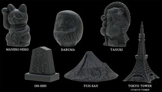 SOUVENIR FROM FREEMASONRY JAPAN Mini Statue 12Pack BOX(Back-order)(SOUVENIR FROM FREEMASONRY JAPAN ミニスタチュー 12個入りBOX)
