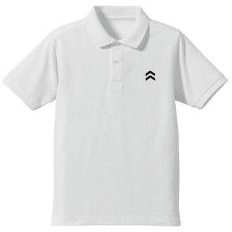 Persona 5 - Syujin High School Design Polo Shirt / WHITE - XL(Released)(ペルソナ5 秀尽学園高校 デザインポロシャツ/ホワイト-XL)