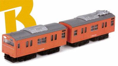 Bトレインショーティー 103系体質改善30N車 大阪環状線(オレンジ) 2両入り[バンダイ]《取り寄せ※暫定》