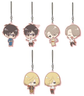 Yuri on Ice - Rubber Strap Collection 6Pack BOX(Released)(ユーリ!!! on ICE ラバーストラップコレクション 6個入りBOX)