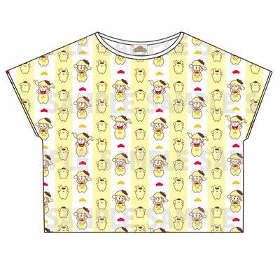 おそ松さん×Sanrio characters 総柄Tシャツ(十四松)[エイベックス]《取り寄せ※暫定》