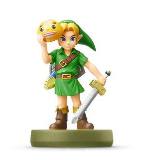 amiibo リンク [ムジュラの仮面] (ゼルダの伝説シリーズ)(amiibo - Link [Majora's Mask] (The Legend of Zelda Series)(Released))