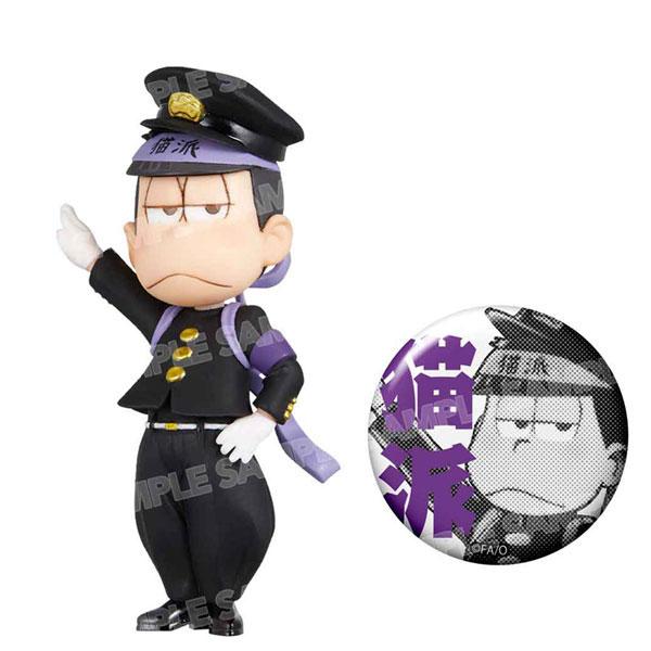 おそ松さん ワールドコレクタブルフィギュア-押忍松-黒ランver.(一松)[エイベックス]《発売済・在庫品》
