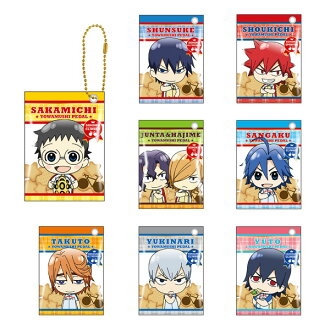弱虫ペダル NEW GENERATION お菓子チャーム 8個入りBOX(Yowamushi Pedal NEW GENERATION - Okashi Charm 8Pack BOX(Released))