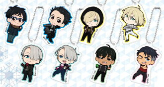 Mini Acrylic Keychain - Yuri on Ice vol.2 10Pack BOX(Released)(ミニアクリルキーホルダー ユーリ!!! on ICE vol.2 10個入りBOX)