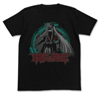Re:CREATORS - Gunpuku no Himegimi T-shirt / BLACK - M(Released)(Re:CREATORS 軍服の姫君Tシャツ/ブラック-M)