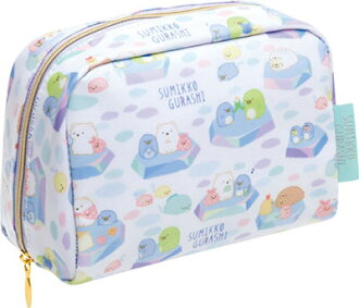 CU25101 Shirokuma no Tomodachi Theme Sumikko Gurashi - Pouch(Released)(CU25101 しろくまのともだちテーマ すみっコぐらし ポーチ)