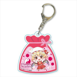 Pukasshu Acrylic Keychain - Touhou Project / Flandre Scarlet(Released)(ぷかっしゅアクリルキーホルダー 東方Project/フランドール・スカーレット)