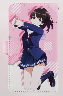 Saekano: How to Raise a Boring Girlfriend Flat - Book-style Smartphone Case: Megumi Kato(Released)(冴えない彼女の育てかた♭ 手帳型スマートフォンケース 加藤恵)