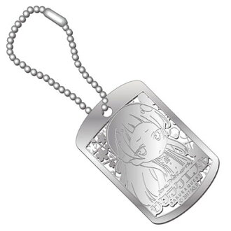 Sakura Quest - Metal Art Dog Tag: Ririko Oribe(Pre-order)(『サクラクエスト』 メタルアートドッグタグ 織部凛々子)