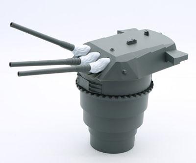 集める装備品シリーズ No.1 1/200 戦艦大和 九四式46センチ3連装主砲塔 プラモデル[フジミ模型]《03月予約》