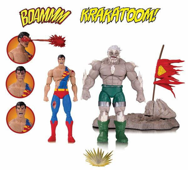 『DCコミックス』 DC アクションフィギュア 「アイコンズ」スーパーマン&ドゥームズデイ(スーパーマンの最期版)[DCコレクティブル]《発売済・在庫品》