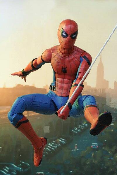 スパイダーマン ホームカミング/ スパイダーマン 1/4 アクションフィギュア[ネカ]《01月仮予約》