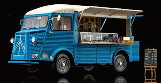 1/24 Citroen H mobile kitchen Plastic Model(Released)(1/24 シトロエン H mobile kitchen プラモデル)