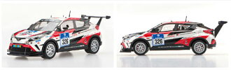 1/43 TOYOTA C-HR Racing Nurburgring 24h Race 2016 No.326 Resin Model WHITE(Pre-order)(1/43 TOYOTA C-HR Racing Nurburgring 24h Race 2016  No.326 レジン製 WHITE)