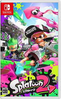 NintendoSwitchSplatoon2(スプラトゥーン2)[任天堂]【送料無料】《07月予約》