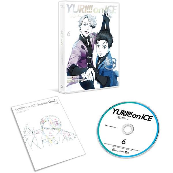DVD ユーリ!!! on ICE 6[エイベックス]【送料無料】《発売済・在庫品》
