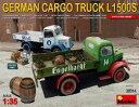 1/35 ドイツカーゴトラック LS1500S (飲料会社仕様) プラモデル[ミニアート]《06月予約※暫定》