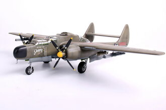 1/48 P-61A Black Widow w/Rocket Launcher Plastic Model(Back-order)(1/48 P-61Aブラックウィドウ ロケットランチャー付き プラモデル)