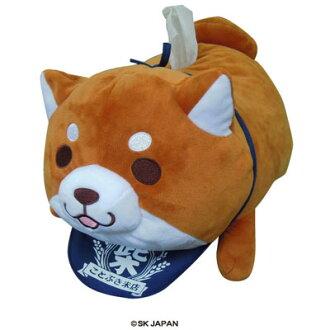 忠犬もちしば ぬいぐるみティッシュケース(おかか)(Chuuken Mochishiba - Plush Tissue Case (Okaka)(Released))