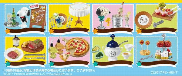 ピーナッツ SNOOPY's Garden Party 8個入りBOX[リーメント]【送料無料】《発売済・在庫品》