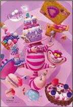 プリズムアートジグソーパズルプチ チェシャ猫のパーティ 70ピース (97-158)[やのまん]《取り寄せ※暫定》