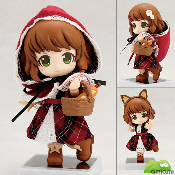 キューポッシュフレンズ 赤ずきん-Little Red Riding Hood- 可動フィギュア[コトブキヤ]《取り寄せ※暫定》