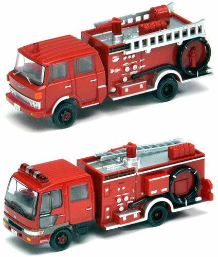 ザ・トラックコレクション 水槽付消防ポンプ車セット[トミーテック]《発売済・在庫品》