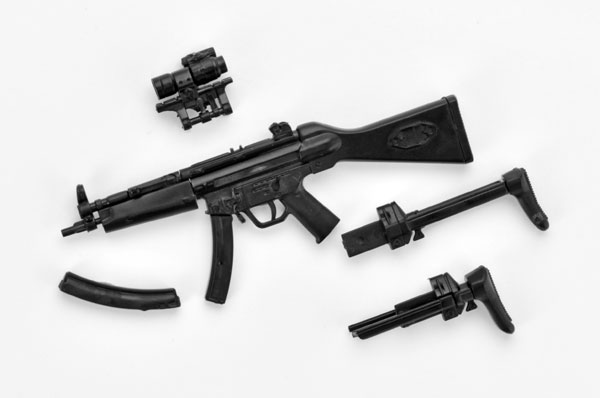 リトルアーモリー 〈LA033〉 1/12 MP5A4/5タイプ プラモデル[トミーテック]《発売済・在庫品》