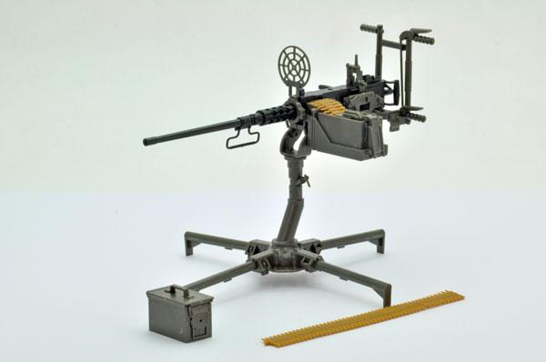 リトルアーモリー 〈LD009〉1/12 M2重機関銃(対空銃架) プラモデル[トミーテック]《発売済・在庫品》
