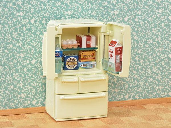 シルバニアファミリー カ-422 冷蔵庫セット(5ドア)[エポック]《発売済・在庫品》