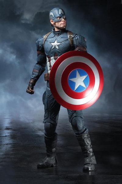 シビル・ウォー キャプテン・アメリカ/ キャプテン・アメリカ 1/4 アクションフィギュア[ネカ]《01月仮予約》