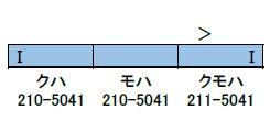 30687 完成品 JR211系5000番台(LL編成)増結3両編成セット(動力無し)(再販)[グリーンマックス]【送料無料】《10月予約》