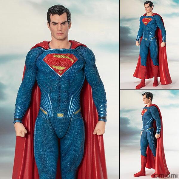 ARTFX+ JUSTICE LEAGUE スーパーマン 1/10 完成品フィギュア[コトブキヤ]《取り寄せ※暫定》