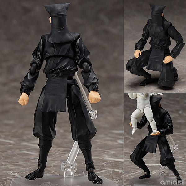 figma 黒衣[フリーイング]【送料無料】《発売済・在庫品》