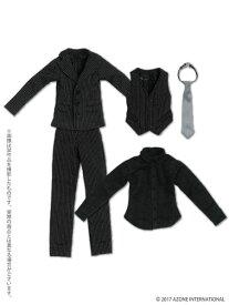 ピュアニーモ用ウェア PNXSスリーピーススーツセット ブラック (ドール用)[アゾン]《発売済・在庫品》