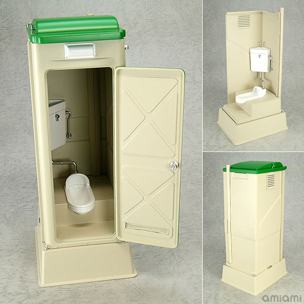 Mabell Original Miniature Model Series 1/12 仮設トイレ TU-R1J 完成品フィギュア[回天堂]《発売済・在庫品》