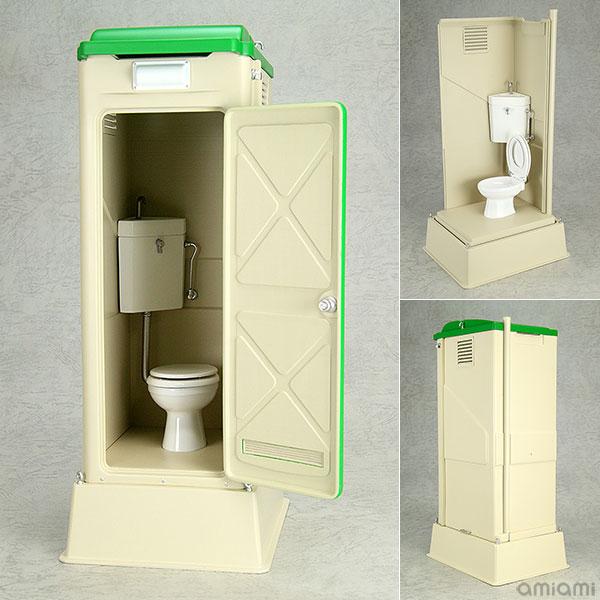 Mabell Original Miniature Model Series 1/12 仮設トイレ TU-R1W 完成品フィギュア[回天堂]《発売済・在庫品》