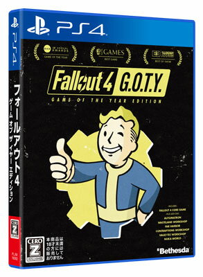 PS4 Fallout 4:Game of the YearEdition[ベセスダ・ソフトワークス]《取り寄せ※暫定》