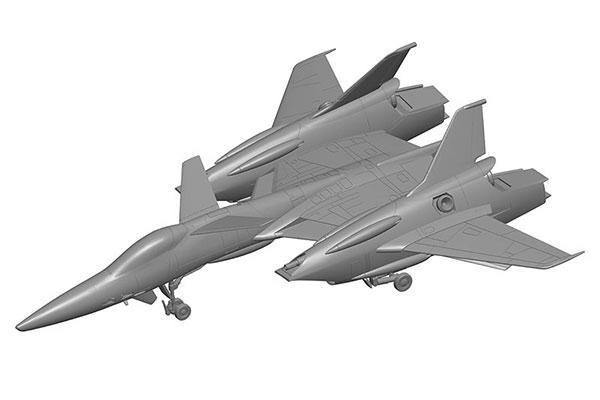1/72 超時空要塞マクロス VF-4 プラモデル[WAVE]《12月予約》