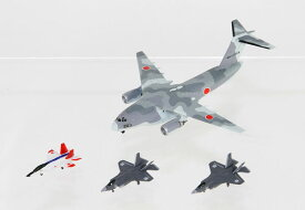 1/700 自衛隊航空機セット1(X-2、F-35A、F-35B×各4機、C-2×2機入り) プラモデル[ピットロード]《取り寄せ※暫定》