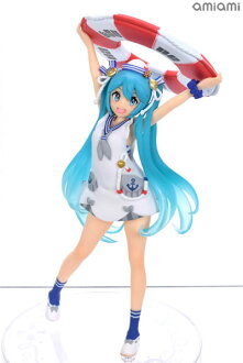 初音ミク フィギュア オリジナル夏服ver. (プライズ)(Hatsune Miku Figure Original Summer Wear ver. (Game-prize)(Released))
