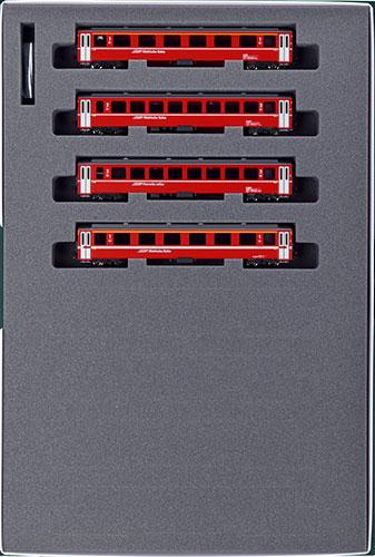 10-1414 アルプスの赤い客車 Ew I 4両増結セット[KATO]《発売済・在庫品》
